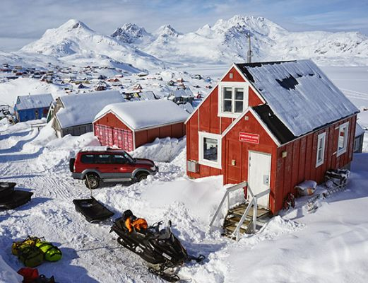 The Red House - Eastgreenland - Aktivitäten - Skitrekking
