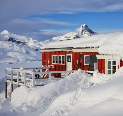 The Red House - Eastgreenland - News - Presse