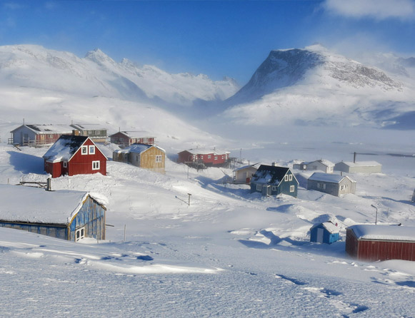The Red House - Eastgreenland - Unterkunft